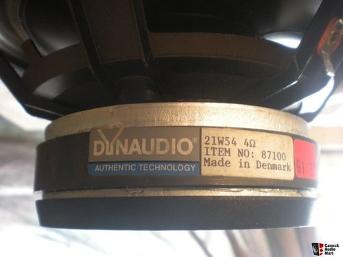 Suspension foam Dynaudio 21W54 woofer