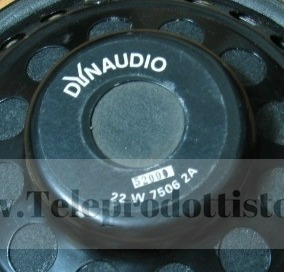 Suspension foam Dynaudio 22W75 woofer