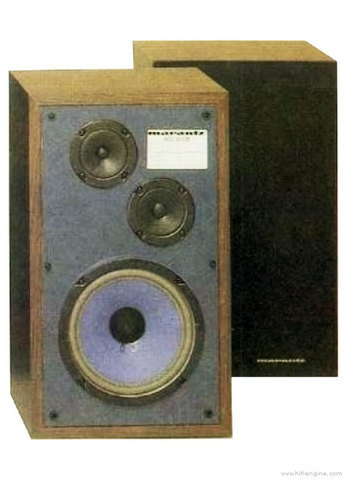 Suspension foam MARANTZ HD 345 WOOFER